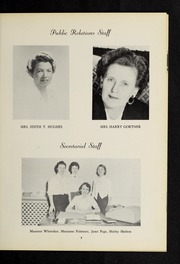 Page 11, 1957 Edition, Fisher College - Beacon Yearbook (Boston, MA) online yearbook collection