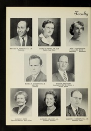 Page 12, 1957 Edition, Fisher College - Beacon Yearbook (Boston, MA) online yearbook collection