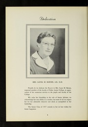 Page 6, 1957 Edition, Fisher College - Beacon Yearbook (Boston, MA) online yearbook collection