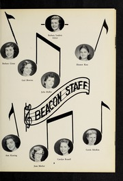 Page 9, 1957 Edition, Fisher College - Beacon Yearbook (Boston, MA) online yearbook collection