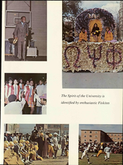 Page 11, 1969 Edition, Fisk University - Oval Yearbook (Nashville, TN) online yearbook collection