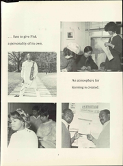 Page 13, 1969 Edition, Fisk University - Oval Yearbook (Nashville, TN) online yearbook collection
