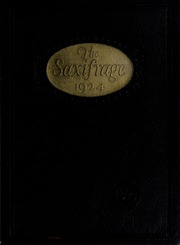 Fitchburg State University - Saxifrage Yearbook (Fitchburg, MA) online yearbook collection, 1924 Edition, Cover