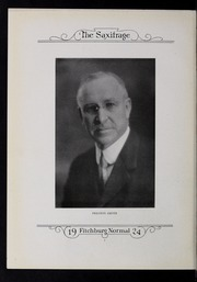 Page 10, 1924 Edition, Fitchburg State University - Saxifrage Yearbook (Fitchburg, MA) online yearbook collection