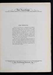 Page 13, 1924 Edition, Fitchburg State University - Saxifrage Yearbook (Fitchburg, MA) online yearbook collection