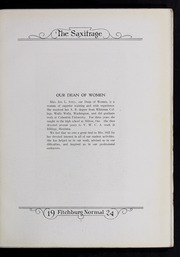 Page 15, 1924 Edition, Fitchburg State University - Saxifrage Yearbook (Fitchburg, MA) online yearbook collection