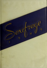 Fitchburg State University - Saxifrage Yearbook (Fitchburg, MA) online yearbook collection, 1949 Edition, Cover