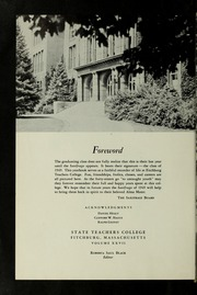 Page 6, 1949 Edition, Fitchburg State University - Saxifrage Yearbook (Fitchburg, MA) online yearbook collection