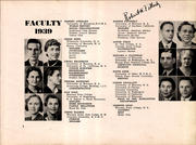 Page 13, 1939 Edition, Flathead High School - Flathead Yearbook (Kalispell, MT) online yearbook collection