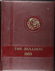 Flatonia High School - Bulldog Yearbook (Flatonia, TX) online yearbook collection, 1953 Edition, Cover