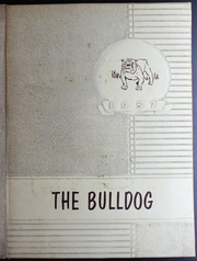 Flatonia High School - Bulldog Yearbook (Flatonia, TX) online yearbook collection, 1957 Edition, Cover