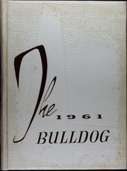 Flatonia High School - Bulldog Yearbook (Flatonia, TX) online yearbook collection, 1961 Edition, Cover