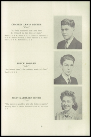 Page 13, 1941 Edition, Fleetwood High School - Tiger Tale Yearbook (Fleetwood, PA) online yearbook collection