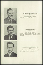 Page 14, 1941 Edition, Fleetwood High School - Tiger Tale Yearbook (Fleetwood, PA) online yearbook collection
