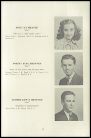 Page 17, 1941 Edition, Fleetwood High School - Tiger Tale Yearbook (Fleetwood, PA) online yearbook collection
