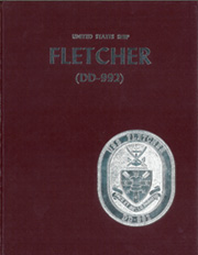 Fletcher (DD 992) - Naval Cruise Book online yearbook collection, 1982 Edition, Cover