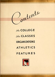 Page 9, 1934 Edition, Flora Macdonald College - White Heather Yearbook (Red Springs, NC) online yearbook collection