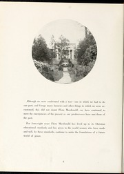 Page 12, 1944 Edition, Flora Macdonald College - White Heather Yearbook (Red Springs, NC) online yearbook collection