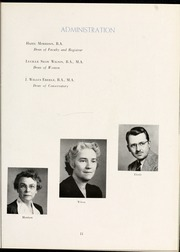 Page 15, 1944 Edition, Flora Macdonald College - White Heather Yearbook (Red Springs, NC) online yearbook collection