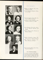 Page 16, 1944 Edition, Flora Macdonald College - White Heather Yearbook (Red Springs, NC) online yearbook collection