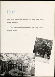 Page 9, 1944 Edition, Flora Macdonald College - White Heather Yearbook (Red Springs, NC) online yearbook collection