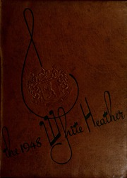 Flora Macdonald College - White Heather Yearbook (Red Springs, NC) online yearbook collection, 1948 Edition, Cover