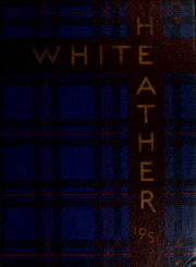 Flora Macdonald College - White Heather Yearbook (Red Springs, NC) online yearbook collection, 1951 Edition, Cover