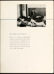 Page 13, 1951 Edition, Flora Macdonald College - White Heather Yearbook (Red Springs, NC) online yearbook collection