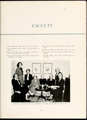 Page 17, 1951 Edition, Flora Macdonald College - White Heather Yearbook (Red Springs, NC) online yearbook collection