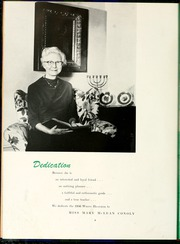 Page 12, 1956 Edition, Flora Macdonald College - White Heather Yearbook (Red Springs, NC) online yearbook collection