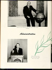 Page 14, 1956 Edition, Flora Macdonald College - White Heather Yearbook (Red Springs, NC) online yearbook collection