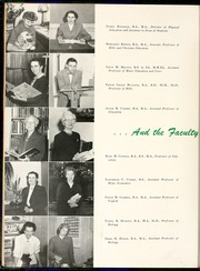 Page 16, 1956 Edition, Flora Macdonald College - White Heather Yearbook (Red Springs, NC) online yearbook collection
