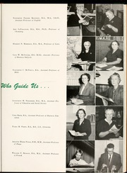 Page 17, 1956 Edition, Flora Macdonald College - White Heather Yearbook (Red Springs, NC) online yearbook collection