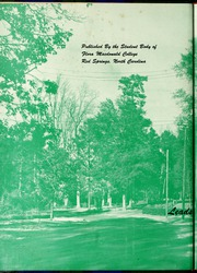Page 6, 1956 Edition, Flora Macdonald College - White Heather Yearbook (Red Springs, NC) online yearbook collection