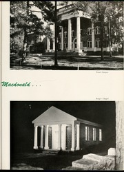 Page 9, 1956 Edition, Flora Macdonald College - White Heather Yearbook (Red Springs, NC) online yearbook collection