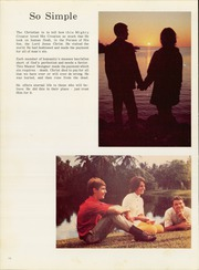 Page 14, 1971 Edition, Florida Bible College - Torch Yearbook (Miami, FL) online yearbook collection