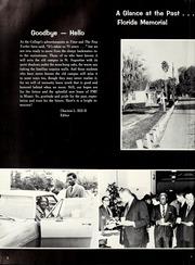 Page 6, 1968 Edition, Florida Memorial College - Arch Yearbook (Miami, FL) online yearbook collection