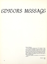 Page 14, 1973 Edition, Florida Memorial College - Arch Yearbook (Miami, FL) online yearbook collection