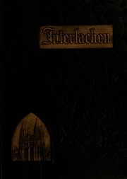 Florida Southern College - Interlachen Yearbook (Lakeland, FL) online yearbook collection, 1933 Edition, Cover