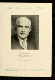 Page 13, 1934 Edition, Florida Southern College - Interlachen Yearbook (Lakeland, FL) online yearbook collection