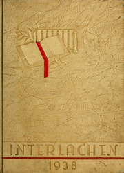 Florida Southern College - Interlachen Yearbook (Lakeland, FL) online yearbook collection, 1938 Edition, Cover