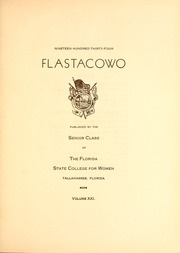 Page 7, 1934 Edition, Florida State University - Renegade / Tally Ho Yearbook (Tallahassee, FL) online yearbook collection