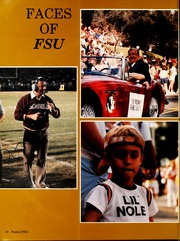 Page 14, 1986 Edition, Florida State University - Renegade / Tally Ho Yearbook (Tallahassee, FL) online yearbook collection