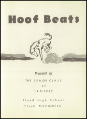Page 7, 1952 Edition, Floyd High School - Hoofbeats Yearbook (Floyd, NM) online yearbook collection
