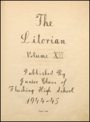 Page 7, 1945 Edition, Flushing High School - Litorian Yearbook (Flushing, OH) online yearbook collection