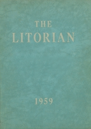 Flushing High School - Litorian Yearbook (Flushing, OH) online yearbook collection, 1959 Edition, Cover