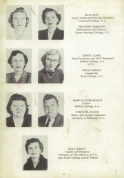 Page 14, 1953 Edition, Fluvanna County High School - Fluvannual Yearbook (Carysbrook, VA) online yearbook collection