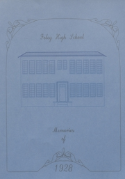 Foley High School - Blue and Gold Yearbook (Foley, AL) online yearbook collection, 1928 Edition, Cover