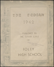 Page 7, 1942 Edition, Foley High School - Blue and Gold Yearbook (Foley, AL) online yearbook collection