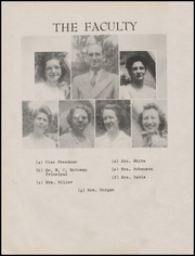 Foley High School - Blue and Gold Yearbook (Foley, AL) online yearbook collection, 1945 Edition, Page 12